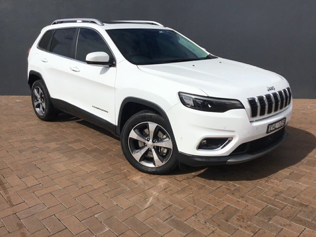Discounted Demonstrator, Demo, Near New Jeep Cherokee Limited, Warwick Farm, 2019 Jeep Cherokee Limited SUV