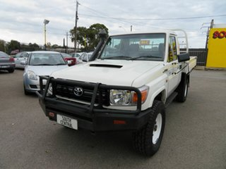 2008 Toyota Landcruiser Workmate (4x4) Cab Chassis.