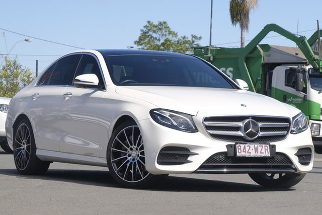 Used Mercedes-Benz E-Class E350 d 9G-Tronic PLUS, Bowen Hills, 2016 Mercedes-Benz E-Class E350 d 9G-Tronic PLUS Sedan