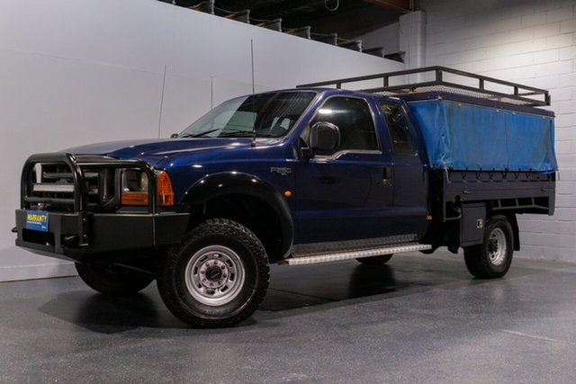 Used Ford F250 XL (4x4), Slacks Creek, 2002 Ford F250 XL (4x4) Super Cab Chassis