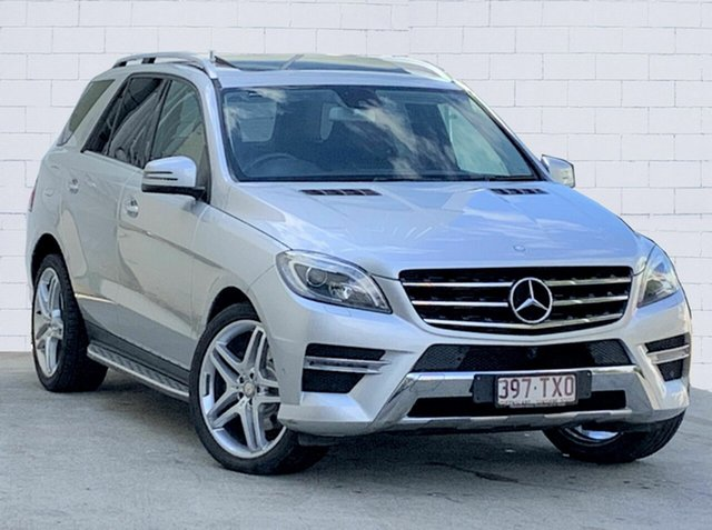 Used Mercedes-Benz ML250 CDI BlueTEC 4x4, Moorooka, 2014 Mercedes-Benz ML250 CDI BlueTEC 4x4 Wagon