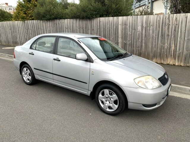 Used Toyota Corolla Ascent, North Hobart, 2003 Toyota Corolla Ascent Sedan