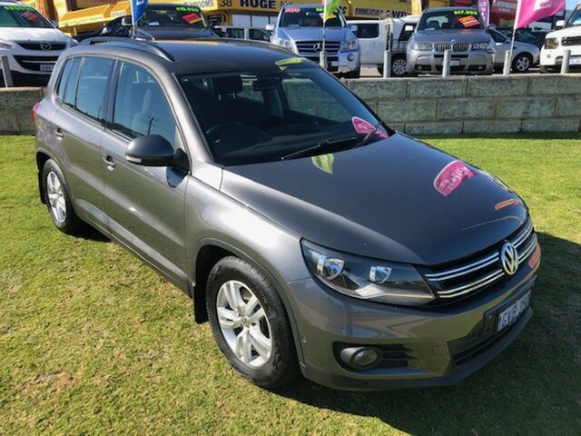 Used Volkswagen Tiguan 132TSI 4MOTION Pacific, Wangara, 2012 Volkswagen Tiguan 132TSI 4MOTION Pacific Wagon