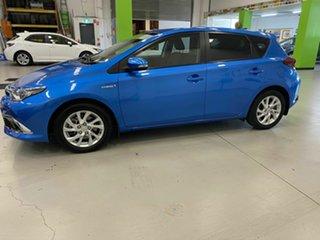 2016 Toyota Corolla Hybrid Hatchback.
