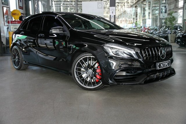 Used Mercedes-Benz A-Class A45 AMG SPEEDSHIFT DCT 4MATIC, North Melbourne, 2017 Mercedes-Benz A-Class A45 AMG SPEEDSHIFT DCT 4MATIC Hatchback