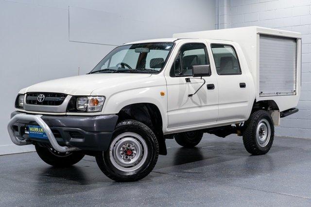Used Toyota Hilux (4x4), Slacks Creek, 2004 Toyota Hilux (4x4) Dual Cab Pick-up