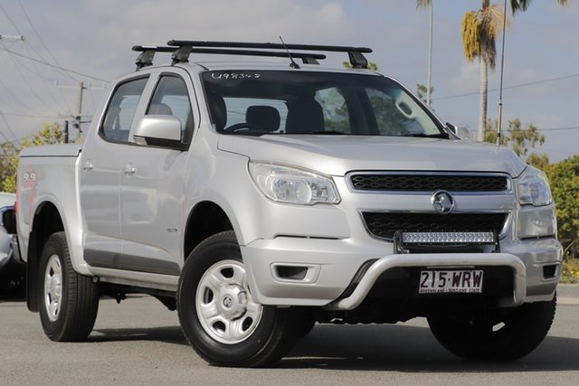 Used Holden Colorado LX Crew Cab, Toowong, 2013 Holden Colorado LX Crew Cab Utility