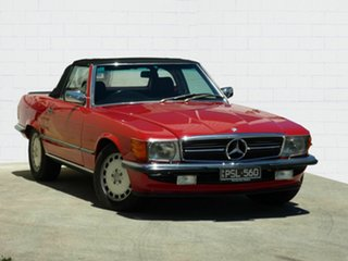 1987 Mercedes-Benz 560 SL Convertible.