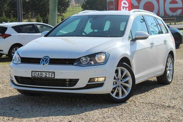 Used Volkswagen Golf 110 TDI Highline, Bathurst, 2015 Volkswagen Golf 110 TDI Highline Wagon