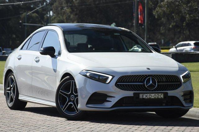Discounted Demonstrator, Demo, Near New Mercedes-Benz A-Class A180 DCT, Warwick Farm, 2019 Mercedes-Benz A-Class A180 DCT Sedan