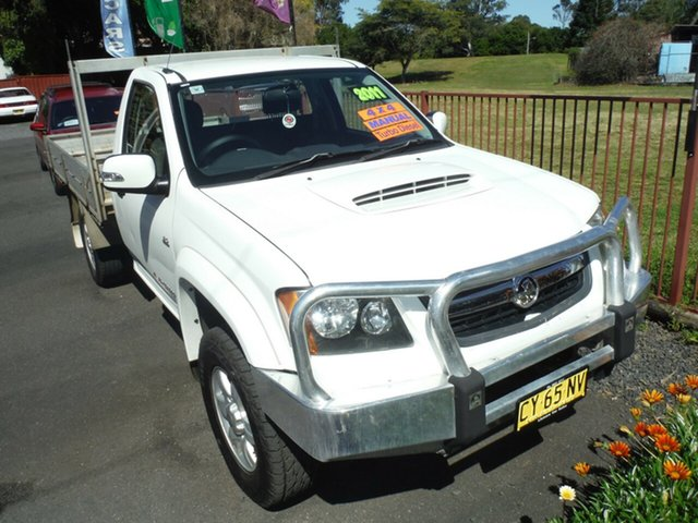 Used Holden Colorado LX (4x4), East Lismore, 2011 Holden Colorado LX (4x4) RC MY11 Cab Chassis