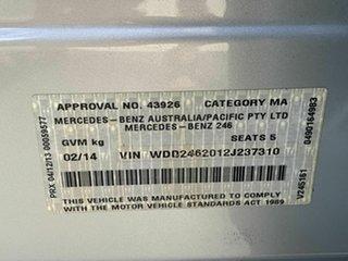 2014 Mercedes-Benz B200 CDI Hatchback.