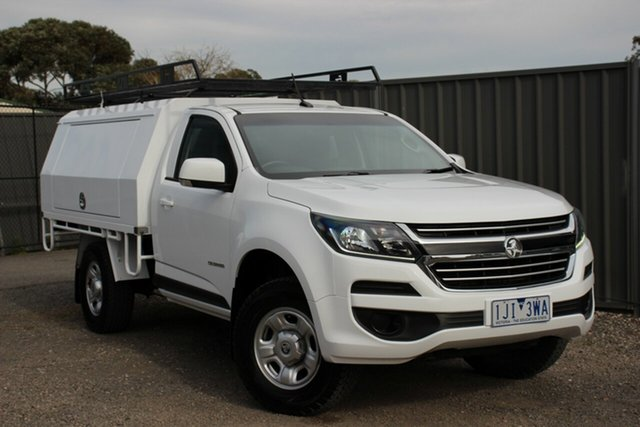 Used Holden Colorado LS Crew Cab 4x2, Officer, 2017 Holden Colorado LS Crew Cab 4x2 Cab Chassis