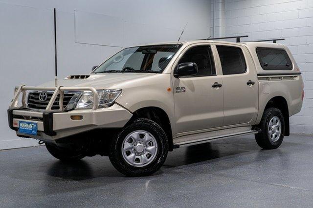 Used Toyota Hilux SR (4x4), Slacks Creek, 2012 Toyota Hilux SR (4x4) Dual Cab Pick-up