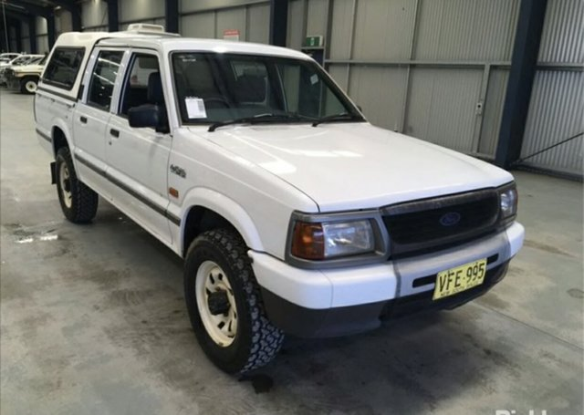 Used Ford Courier XL (4x4), Slacks Creek, 1998 Ford Courier XL (4x4) Crew Cab Pickup