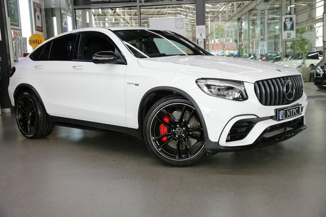 Used Mercedes-Benz GLC-Class GLC63 AMG Coupe SPEEDSHIFT MCT 4MATIC+ S, North Melbourne, 2018 Mercedes-Benz GLC-Class GLC63 AMG Coupe SPEEDSHIFT MCT 4MATIC+ S Wagon