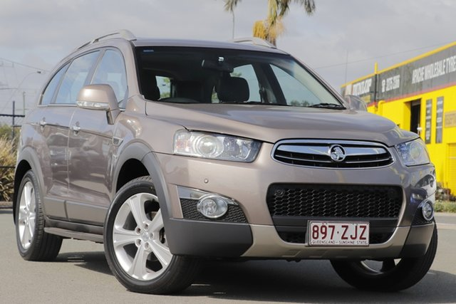 Used Holden Captiva 7 AWD LX, Rocklea, 2013 Holden Captiva 7 AWD LX Wagon