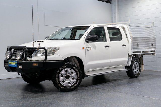 Used Toyota Hilux SR (4x4), Slacks Creek, 2012 Toyota Hilux SR (4x4) Dual Cab Chassis