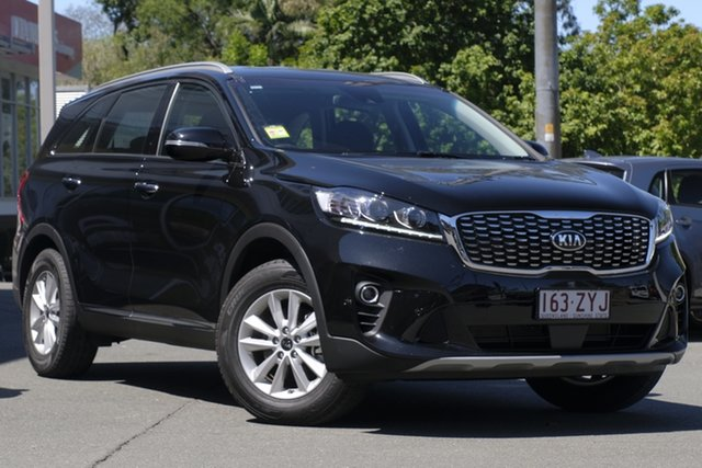 Demonstrator, Demo, Near New Kia Sorento, Toowong, 2019 Kia Sorento Wagon