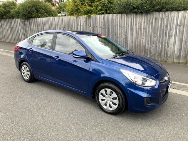 Used Hyundai Accent Active, North Hobart, 2017 Hyundai Accent Active Sedan