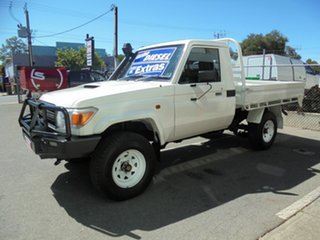 2016 Toyota Landcruiser Workmate Cab Chassis.