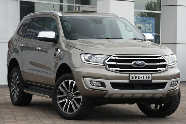 Discounted Used Ford Everest Titanium, Warwick Farm, 2019 Ford Everest Titanium SUV