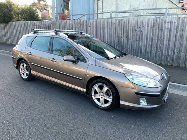 Used Peugeot 407 ST HDi Touring, North Hobart, 2007 Peugeot 407 ST HDi Touring Wagon