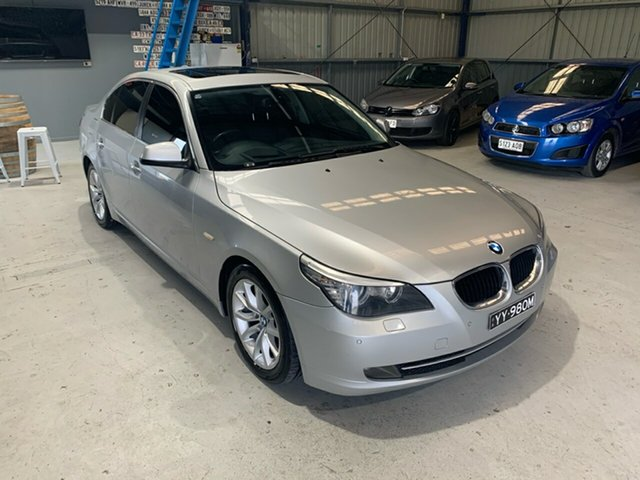 Used BMW 5 Series 520d Steptronic, Lonsdale, 2009 BMW 5 Series 520d Steptronic Sedan