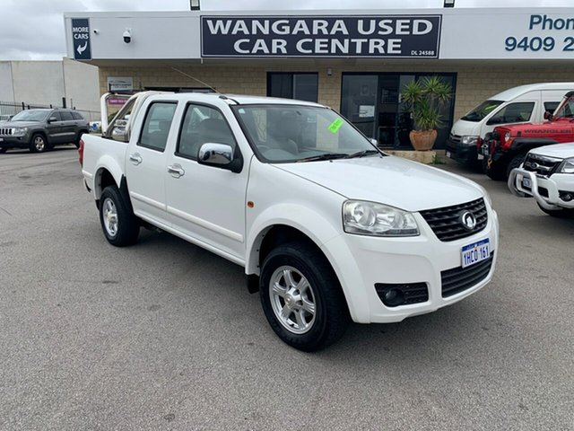 Used Great Wall V200 (4x2), Wangara, 2013 Great Wall V200 (4x2) Dual Cab Utility