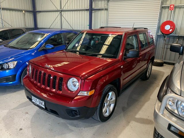 Discounted Used Jeep Patriot Sport CVT Auto Stick 4x2, Lonsdale, 2016 Jeep Patriot Sport CVT Auto Stick 4x2 Wagon
