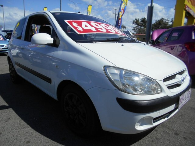 Used Hyundai Getz, Slacks Creek, 2007 Hyundai Getz Hatchback