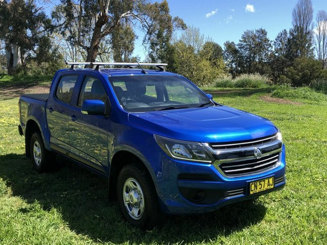 Used Holden Colorado LS Pickup Crew Cab, Queanbeyan, 2017 Holden Colorado LS Pickup Crew Cab Utility