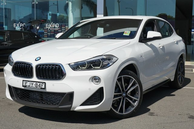 Demonstrator, Demo, Near New BMW X2 sDrive20i Coupe DCT M Sport, Brookvale, 2020 BMW X2 sDrive20i Coupe DCT M Sport Wagon
