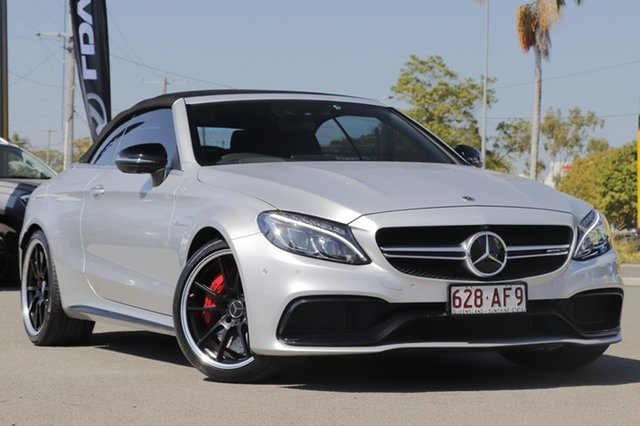 Used Mercedes-Benz C-Class C63 AMG SPEEDSHIFT MCT S, Toowong, 2018 Mercedes-Benz C-Class C63 AMG SPEEDSHIFT MCT S Cabriolet