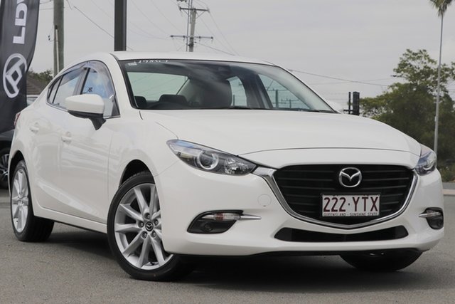 Used Mazda 3 SP25 SKYACTIV-MT, Toowong, 2018 Mazda 3 SP25 SKYACTIV-MT Sedan