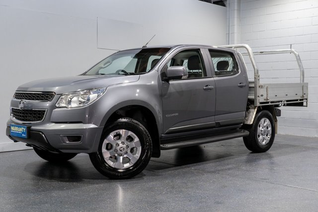 Used Holden Colorado LS (4x2), Slacks Creek, 2015 Holden Colorado LS (4x2) Crew Cab Chassis