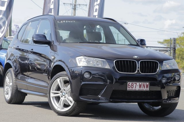 Used BMW X3 xDrive20d Steptronic, Bowen Hills, 2013 BMW X3 xDrive20d Steptronic Wagon