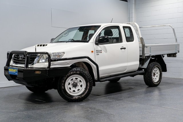 Used Toyota Hilux SR (4x4), Slacks Creek, 2012 Toyota Hilux SR (4x4) X Cab Cab Chassis
