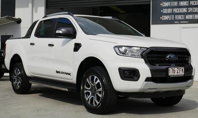 Used Ford Ranger Wildtrak, Capalaba, 2019 Ford Ranger Wildtrak Double Cab Pick Up