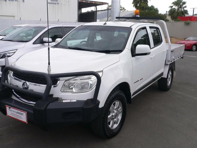 Used Holden Colorado LS Crew Cab, St Marys, 2015 Holden Colorado LS Crew Cab Cab Chassis