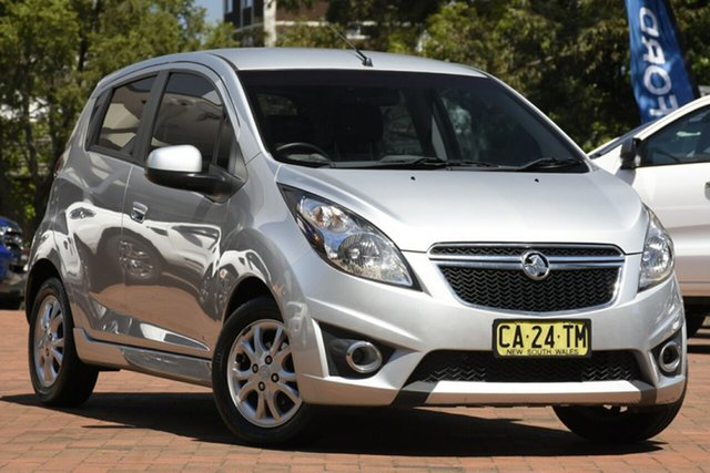 Used Holden Barina Spark CD, Artarmon, 2014 Holden Barina Spark CD Hatchback