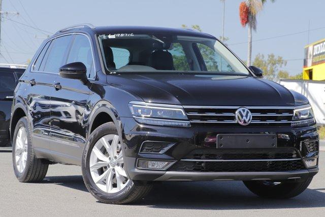 Used Volkswagen Tiguan 140TDI DSG 4MOTION Highline, Bowen Hills, 2017 Volkswagen Tiguan 140TDI DSG 4MOTION Highline Wagon