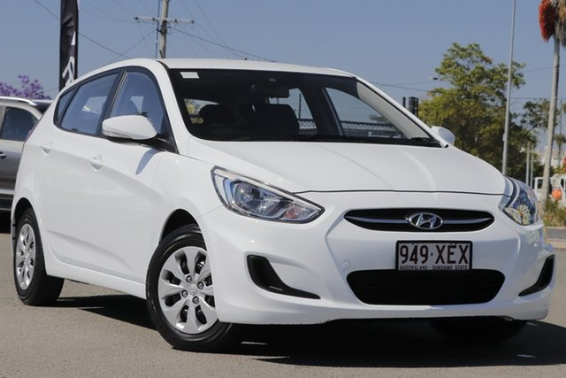 Used Hyundai Accent Active, Bowen Hills, 2017 Hyundai Accent Active Hatchback