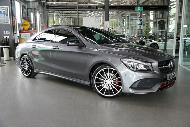 Used Mercedes-Benz CLA-Class CLA250 DCT 4MATIC Sport, North Melbourne, 2017 Mercedes-Benz CLA-Class CLA250 DCT 4MATIC Sport Coupe