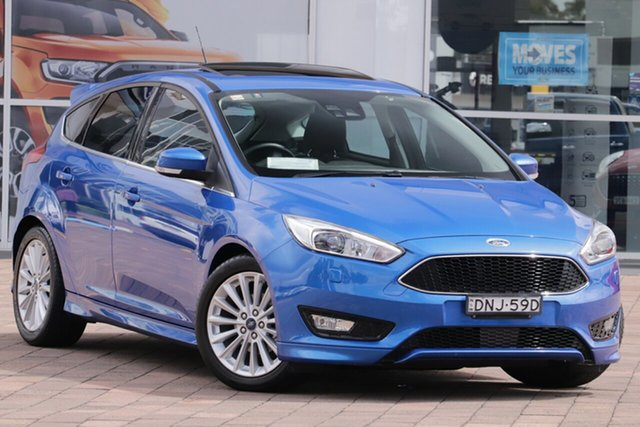 Discounted Used Ford Focus Sport, Warwick Farm, 2016 Ford Focus Sport Hatchback