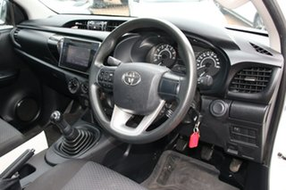 2017 Toyota Hilux Workmate 4x2 Cab Chassis.