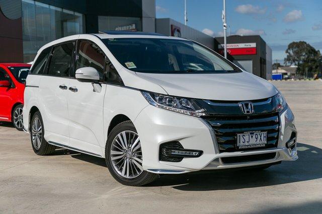 Demonstrator, Demo, Near New Honda Odyssey VTi-L, Springvale, 2020 Honda Odyssey VTi-L RC MY20 Wagon