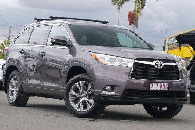 Used Toyota Kluger GXL AWD, Bowen Hills, 2015 Toyota Kluger GXL AWD Wagon