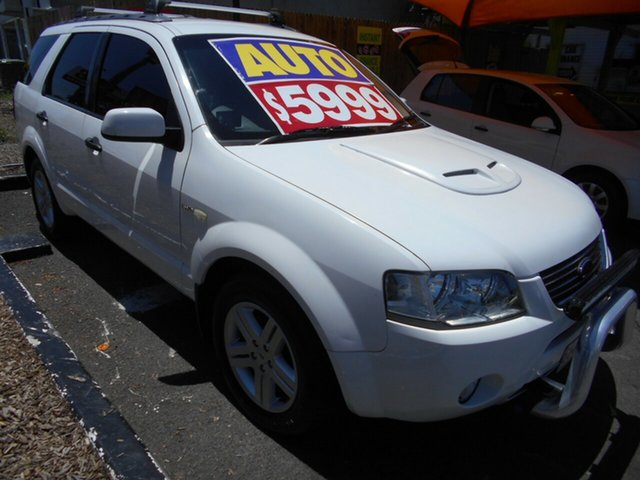 Used Ford Territory Ghia AWD, Slacks Creek, 2004 Ford Territory Ghia AWD Wagon