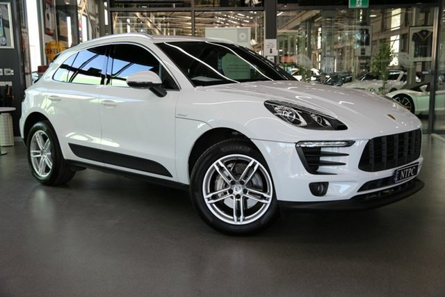 Used Porsche Macan S PDK AWD Diesel, North Melbourne, 2017 Porsche Macan S PDK AWD Diesel Wagon